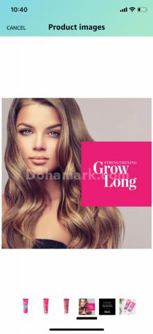 بلسم لنمو الشعر